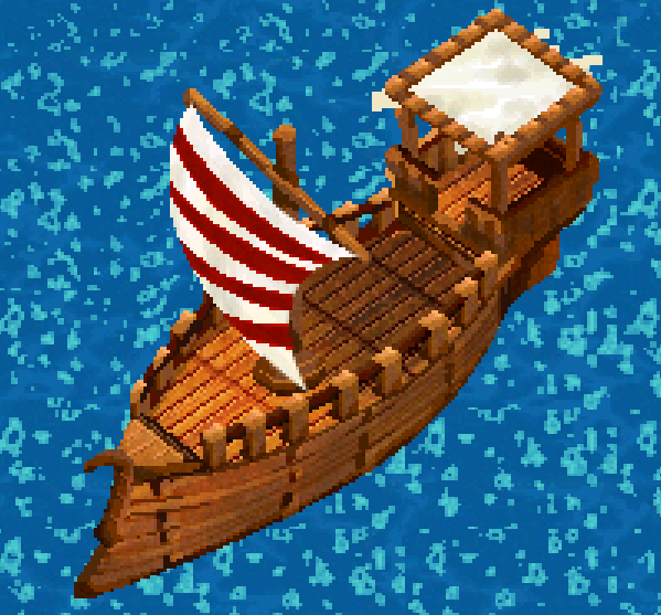 Custom Trading Ship Image